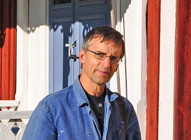 Magnus Wadstein, naturvårdsspecialist på Skogsstyrelsen.