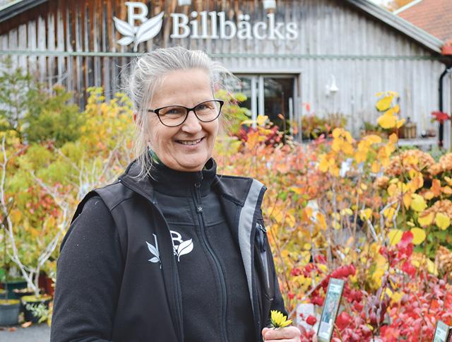 Kerstin Jacobsen Billbäck gjorde tidigt ett yrkesval som också blev hennes livsstil.
