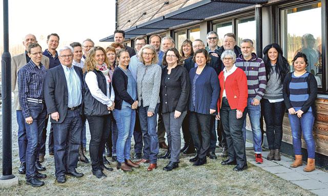 Leader Folkungalands lokala aktionsgrupp, LAG, som också utgör Leaderområdets styrelse.