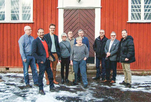 Centerkretsens årsmöte var den här gången förlagt till Åsbo skola.