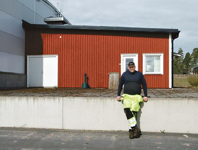 Lokalen där Arvikabygdens mejeri AB ska startas sommaren 2016. Lokalen ligger i Glava, vid Hillringsbergs gård som drivs av familjen Aronius.