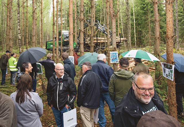 Stora Ensos skogsdag lockade drygt 300 värmländska skogsägare.