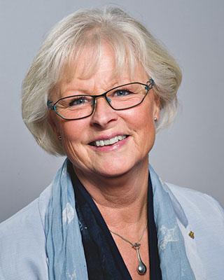Astrid Brissman är ordförande i valberedningen för styrelsen i Länsförsäkringar Östgöta.. Bild: OSKAR LÜ? RÉ?N/Linköpings kommun