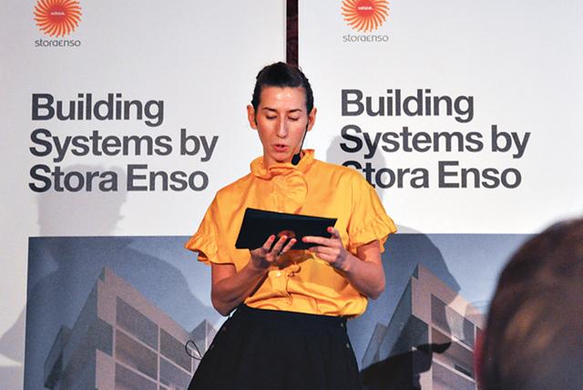 Vad är Building System by Stora Enso? Jessika Szyber, Affärsutvecklingschef, Building Solutions, Stora Enso, berättade om alla fördelar och funktioner.